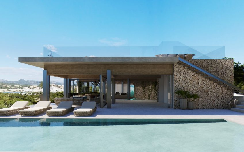PLOT & PROJECT IN SANTA PONSA NEAR MIRADOR ILLES MALGRATS 5,500,000€